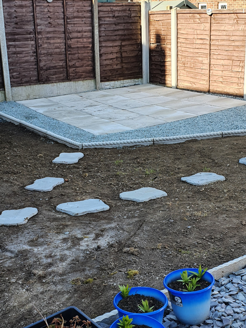 Project garden underway still loads to do but it's coming along nicely before and after pics