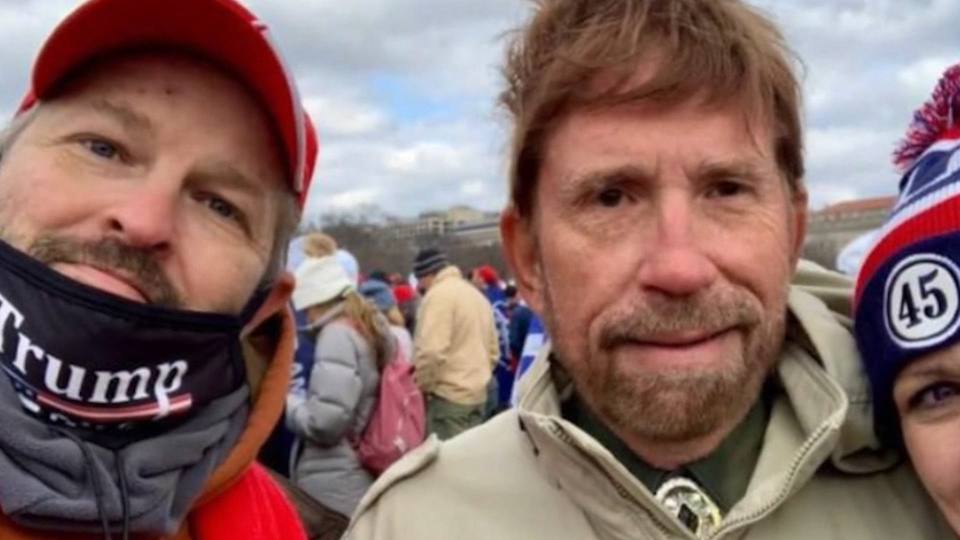"""""""Chuck Norris manager says actor was not at U.S. Capitol riot""""""""NEW YORK (AP) — Chuck Norris' manager says the """"Walker, Texas Ranger"""" star was not present at last week's deadly riot at the U.S. Capitol.A photo of a man resembling Norris apparently with a member of the mob began trending online. """"This is not Chuck Norris,"""" Norris manager Erik Kritzer told The Associated Press on Tuesday.""""Chuck remains on his range in Texas where he has been with his family,"""" Kritzer said. He acknowledged that the man photographed looked somewhat like Norris but """"Chuck is much more handsome."""""""
