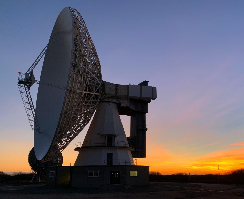 Goonhilly Satellite Station, UK 2021  B)https://www.goonhilly.org/
