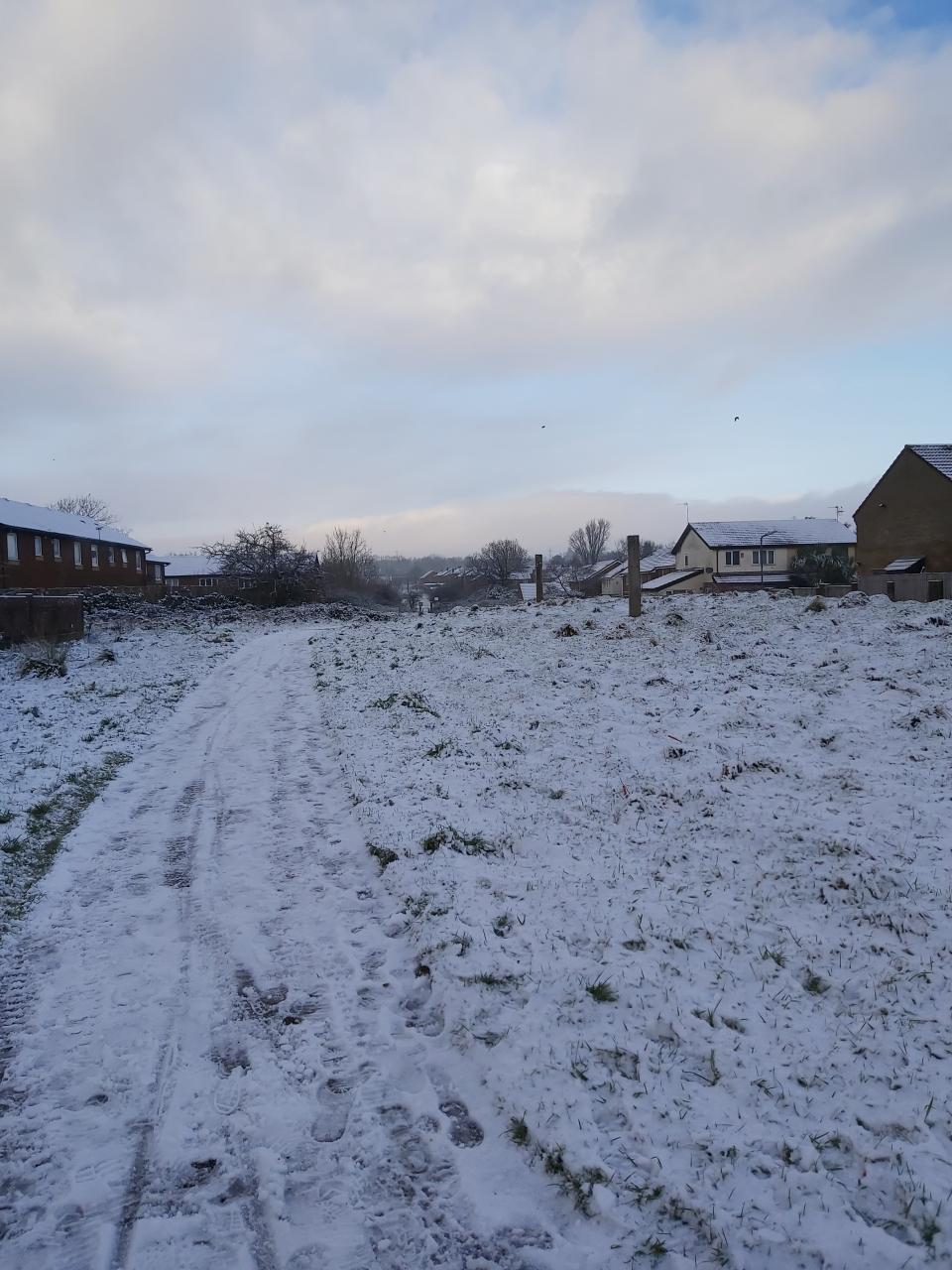 Lovely snow here