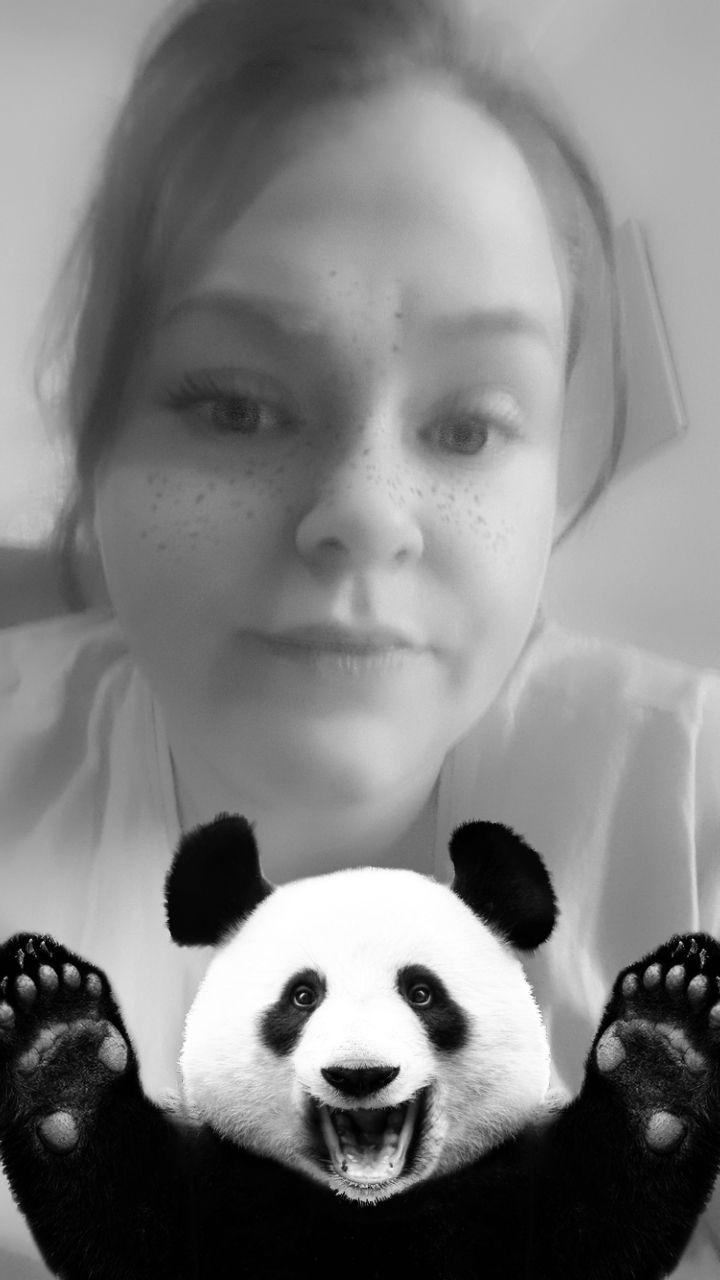 When mr panda pops by lol :rofl: