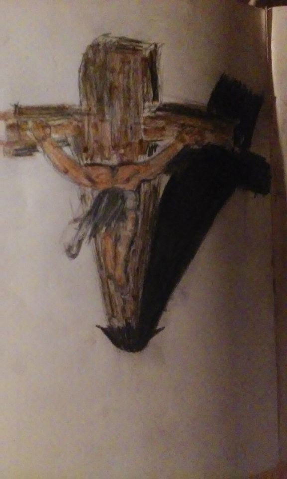-my painting of Jesus