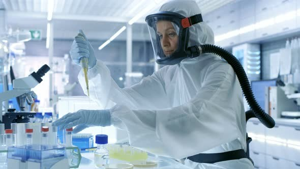 This is a Medical Virology Research Scientist, good luck with the cloth mask.