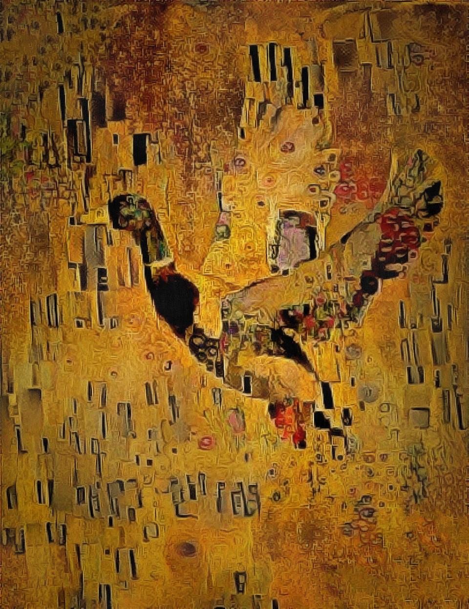 Gustav Klimt Duck.